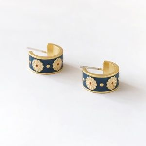 2 For 38⚡️Madewell Daisy Delight Enamel Earrings
